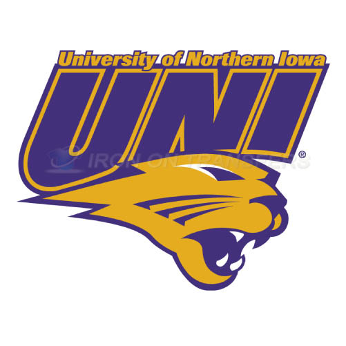 Northern Iowa Panthers Logo T-shirts Iron On Transfers N5677