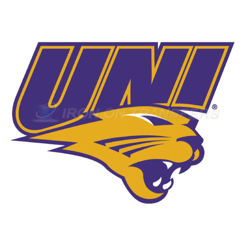 Northern Iowa Panthers Logo T-shirts Iron On Transfers N5678