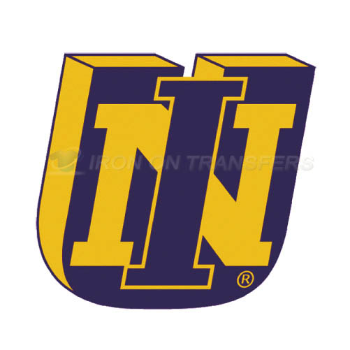 Northern Iowa Panthers Logo T-shirts Iron On Transfers N5680