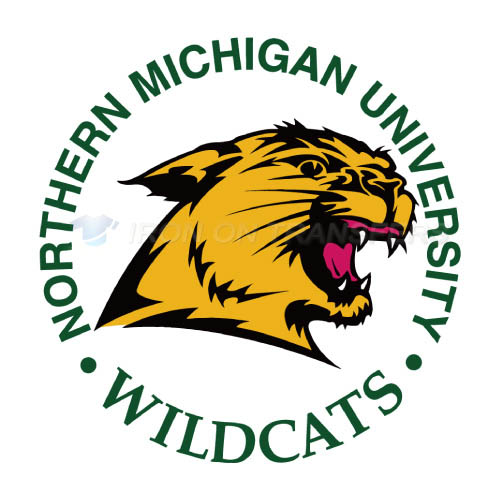 Northern Michigan Wildcats Logo T-shirts Iron On Transfers N5691