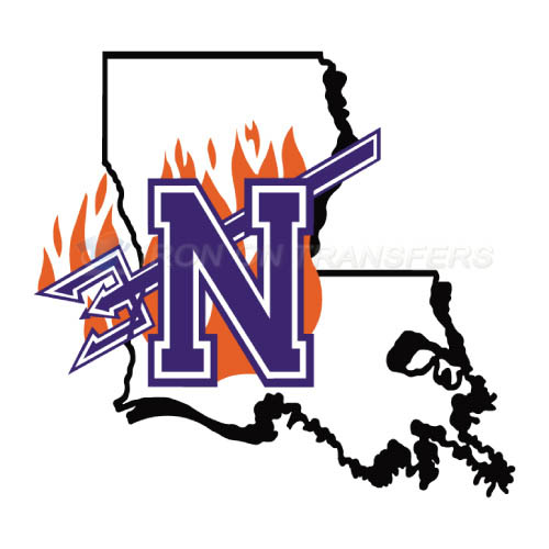 Northwestern State Demons Logo T-shirts Iron On Transfers N5693