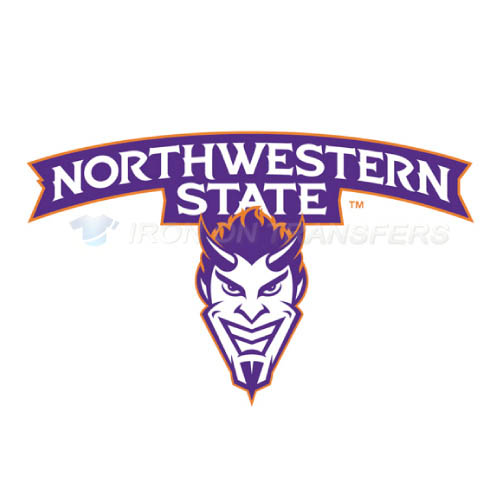 Northwestern State Demons Logo T-shirts Iron On Transfers N5695
