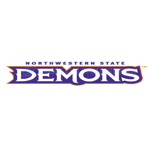 Northwestern State Demons Logo T-shirts Iron On Transfers N5696
