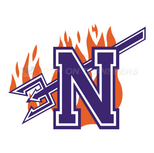 Northwestern State Demons Logo T-shirts Iron On Transfers N5697