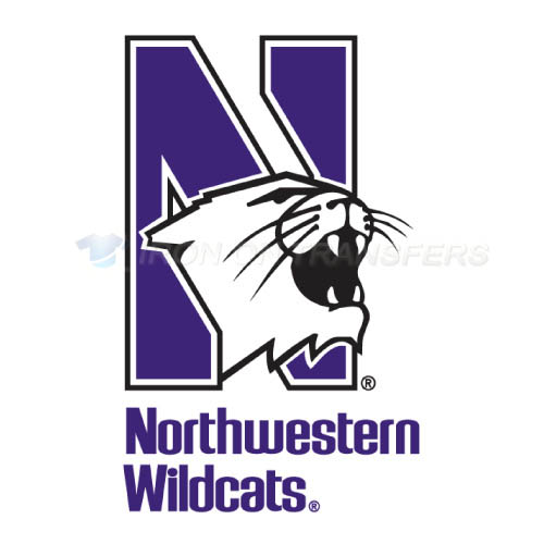 Northwestern Wildcats Logo T-shirts Iron On Transfers N5700