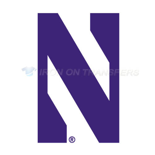 Northwestern Wildcats Logo T-shirts Iron On Transfers N5702