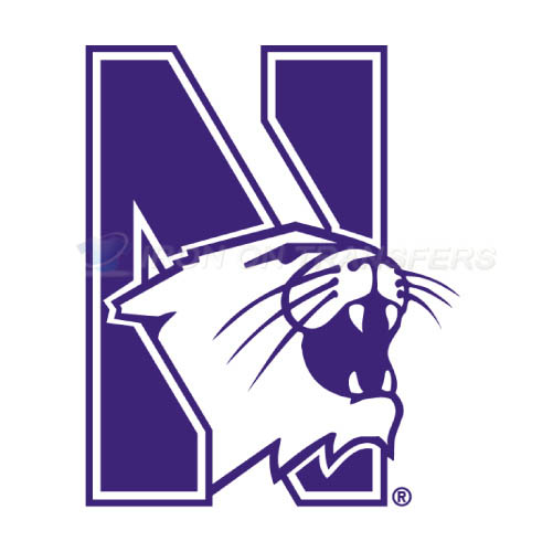 Northwestern Wildcats Logo T-shirts Iron On Transfers N5703