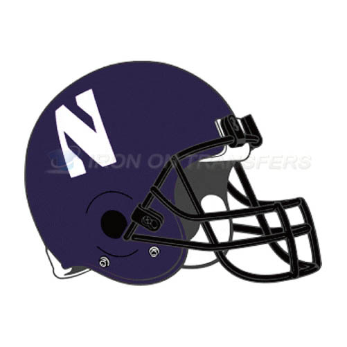 Northwestern Wildcats Logo T-shirts Iron On Transfers N5707