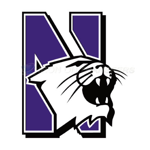 Northwestern Wildcats Logo T-shirts Iron On Transfers N5708