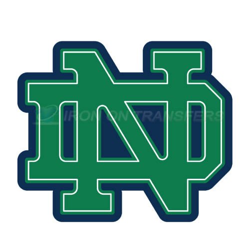 Notre Dame Fighting Irish Logo T-shirts Iron On Transfers N5710