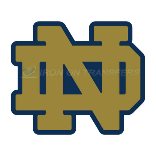 Notre Dame Fighting Irish Logo T-shirts Iron On Transfers N5712