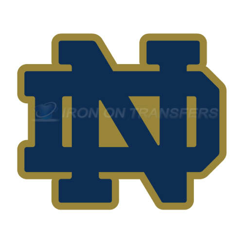 Notre Dame Fighting Irish Logo T-shirts Iron On Transfers N5714