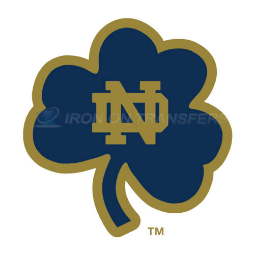 Notre Dame Fighting Irish Logo T-shirts Iron On Transfers N5717