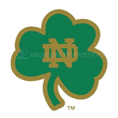 Notre Dame Fighting Irish Logo T-shirts Iron On Transfers N5720