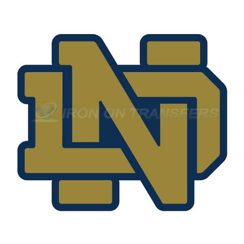 Notre Dame Fighting Irish Logo T-shirts Iron On Transfers N5722