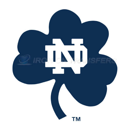 Notre Dame Fighting Irish Logo T-shirts Iron On Transfers N5727