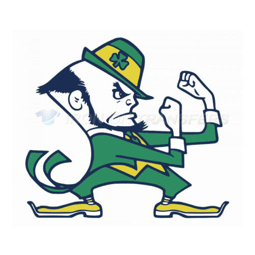 Notre Dame Fighting Irish Logo T-shirts Iron On Transfers N5728