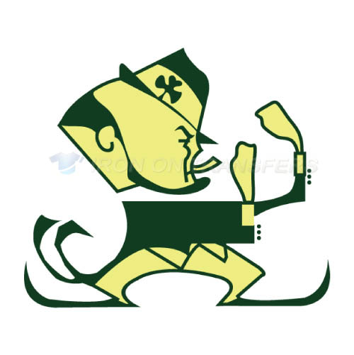 Notre Dame Fighting Irish Logo T-shirts Iron On Transfers N5729