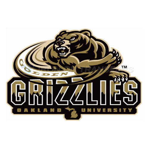 Oakland Golden Grizzlies Logo T-shirts Iron On Transfers N5733