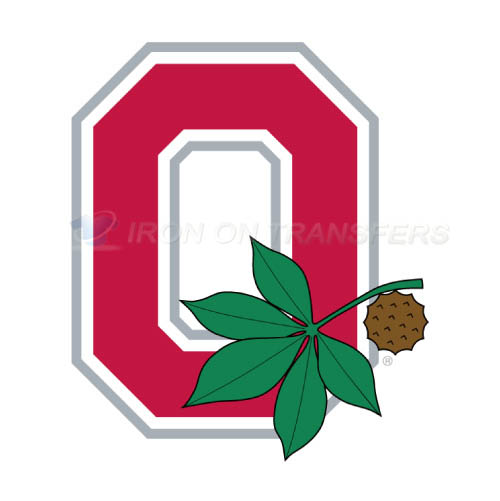 Ohio State Buckeyes Logo T-shirts Iron On Transfers N5753