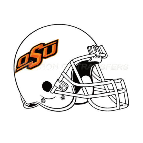 Oklahoma State Cowboys Logo T-shirts Iron On Transfers N5777