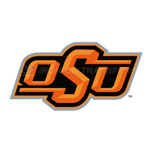 Oklahoma State Cowboys Logo T-shirts Iron On Transfers N5778