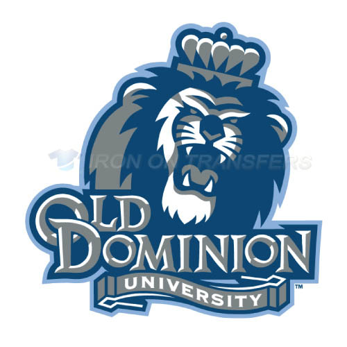 Old Dominion Monarchs Logo T-shirts Iron On Transfers N5781