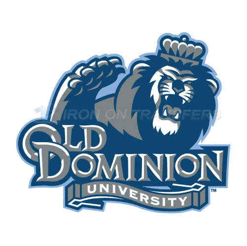 Old Dominion Monarchs Logo T-shirts Iron On Transfers N5785