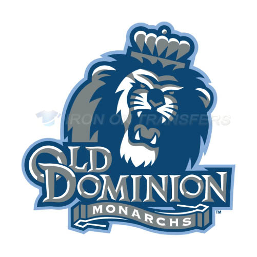 Old Dominion Monarchs Logo T-shirts Iron On Transfers N5787
