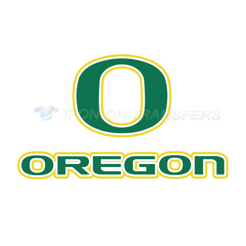 Oregon Ducks Logo T-shirts Iron On Transfers N5797