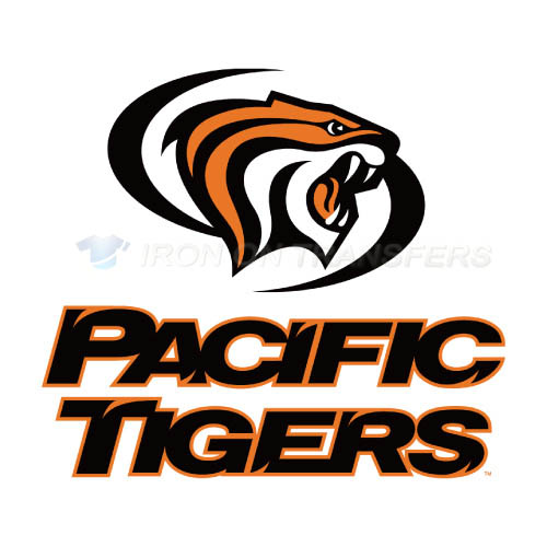 Pacific Tigers Logo T-shirts Iron On Transfers N5823