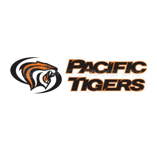 Pacific Tigers Logo T-shirts Iron On Transfers N5825