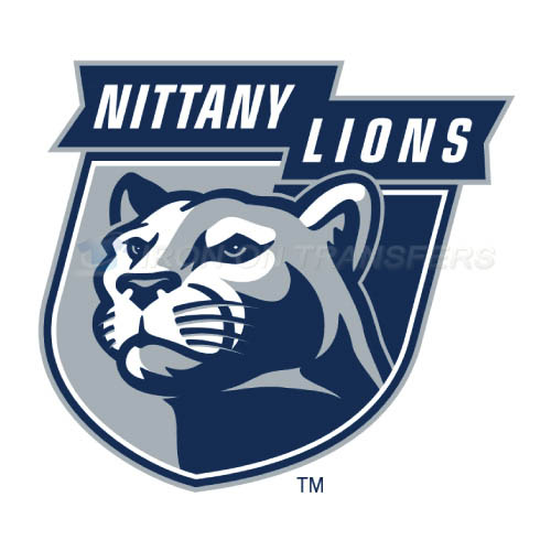 Penn State Nittany Lions Logo T-shirts Iron On Transfers N5859