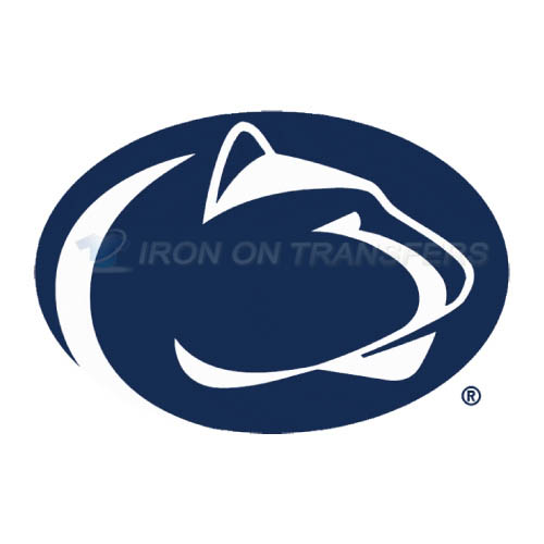 Penn State Nittany Lions Logo T-shirts Iron On Transfers N5860