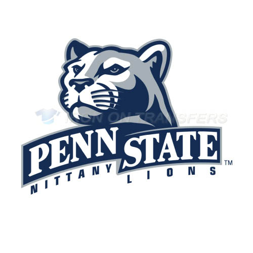 Penn State Nittany Lions Logo T-shirts Iron On Transfers N5870