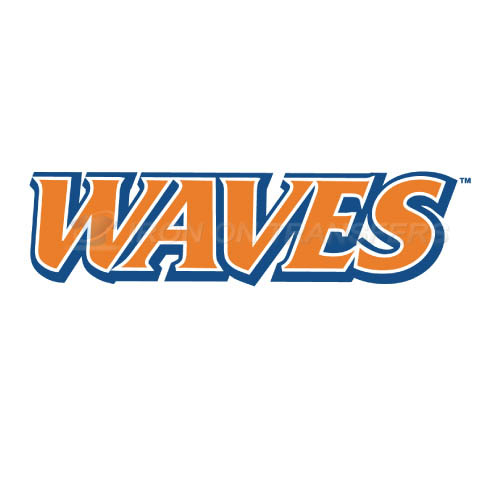 Pepperdine Waves Logo T-shirts Iron On Transfers N5881