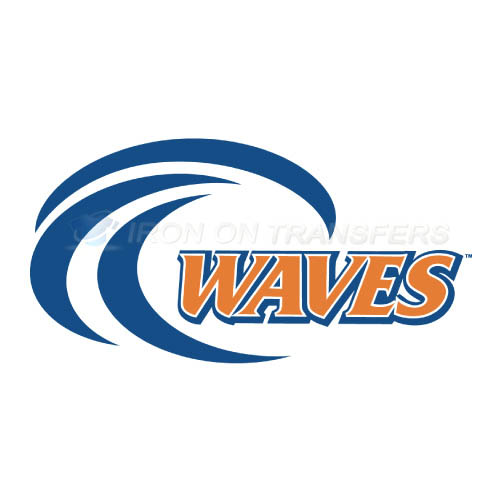 Pepperdine Waves Logo T-shirts Iron On Transfers N5885