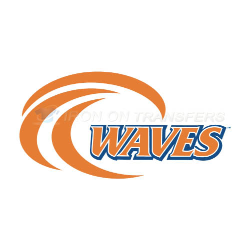 Pepperdine Waves Logo T-shirts Iron On Transfers N5886