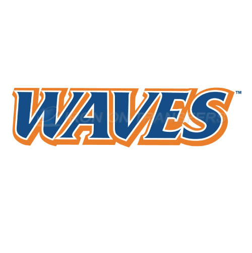 Pepperdine Waves Logo T-shirts Iron On Transfers N5887