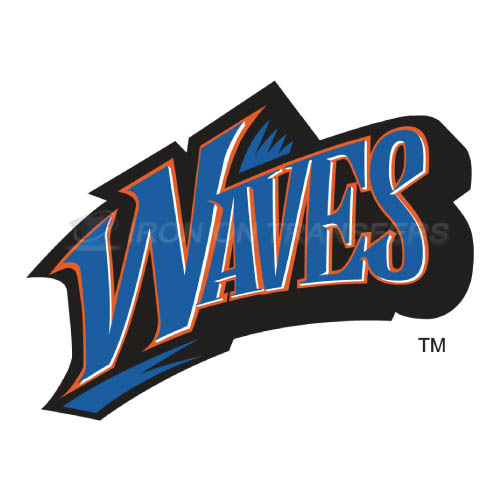Pepperdine Waves Logo T-shirts Iron On Transfers N5890