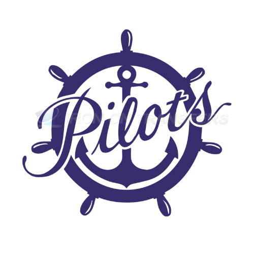 Portland Pilots Logo T-shirts Iron On Transfers N5909