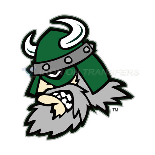 Portland State Vikings Logo T-shirts Iron On Transfers N5915