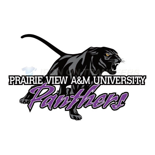 Prairie View A M Panthers Logo T-shirts Iron On Transfers N5918
