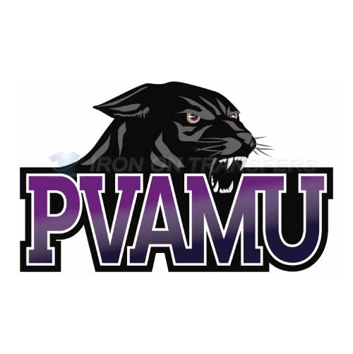Prairie View A M Panthers Logo T-shirts Iron On Transfers N5919