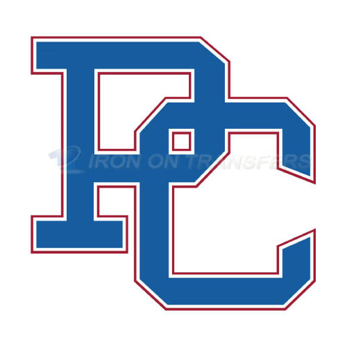Presbyterian Blue Hose Logo T-shirts Iron On Transfers N5922