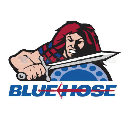 Presbyterian Blue Hose Logo T-shirts Iron On Transfers N5923