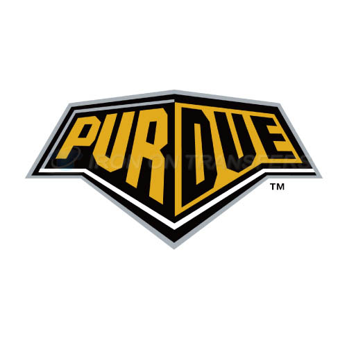 Purdue Boilermakers Logo T-shirts Iron On Transfers N5954