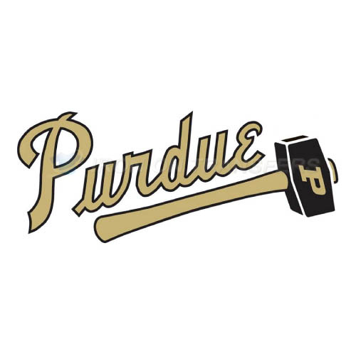 Purdue Boilermakers Logo T-shirts Iron On Transfers N5956