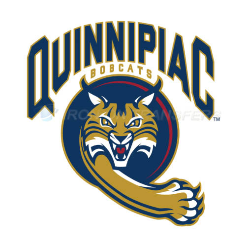 Quinnipiac Bobcats Logo T-shirts Iron On Transfers N5965