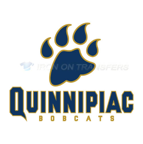 Quinnipiac Bobcats Logo T-shirts Iron On Transfers N5967